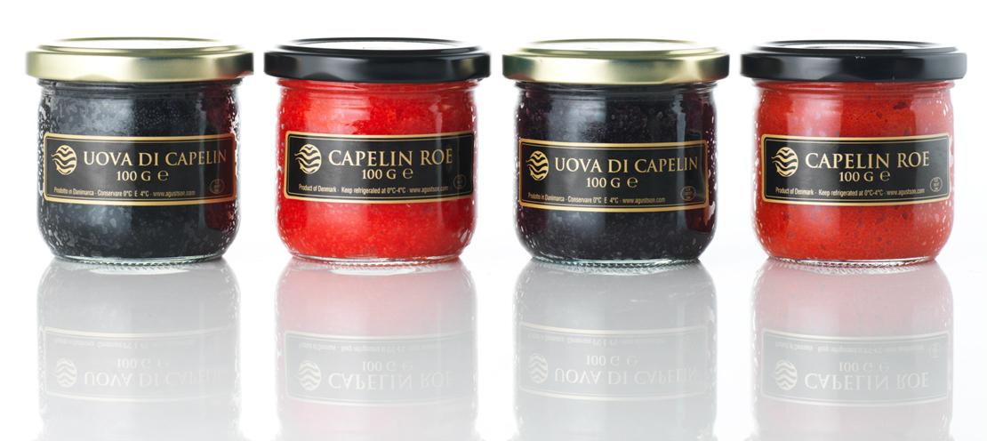 Masago Capelin Karaca Mail: Caviar-Capelin Caviar-100gr
